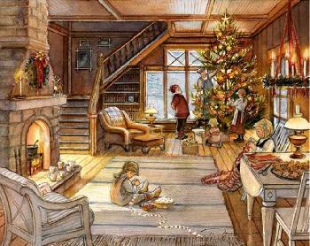 Trisha Romance The Best Christmas Ever Giclee on Canvas