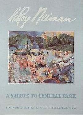 LeRoy Neiman Bethesda Fountain Central Park