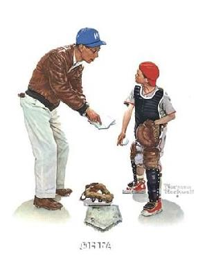Norman Rockwell Big Decision
