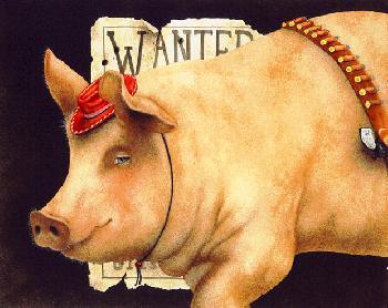 Will Bullas Billy the Pig Artist