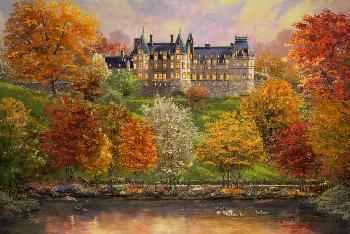 Thomas Kinkade Biltmore in the Fall SN Paper