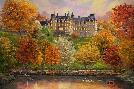 Thomas Kinkade Biltmore in the Fall