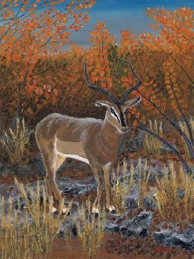Jon Ciarletta Blackface Impala Canvas Edition