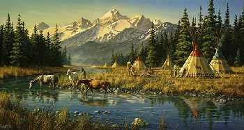 Jim Hautman Blackfoot Village
