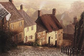 Rod Chase Blackmore Vale Giclee on Canvas