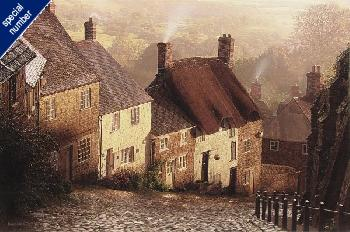 Rod Chase Blackmore Vale Print #1/350 Giclee on Canvas