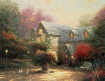 Thomas Kinkade Blessings of Spring Publisher