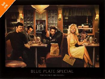 Chris Consani Blue Plate Special NO LONGER IN PRINT - LAST ONES!!