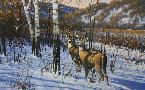 Michael Sieve Blue Wax Trail - Whitetail Deer