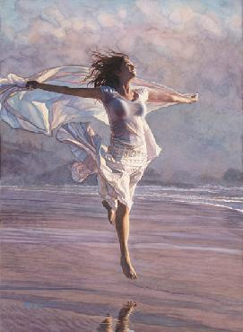Steve Hanks Boundless Giclee on Paper