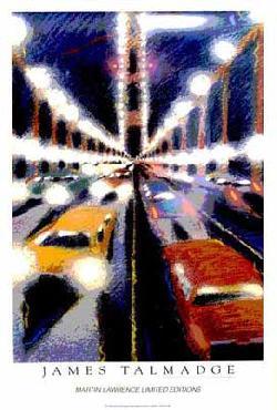 James Talmadge Bridge In Mist Signed Open Edition on Paper