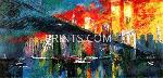 LeRoy Neiman Brooklyn Bridge