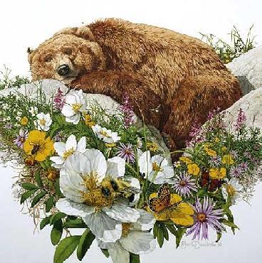 Bev Doolittle Bugged Bear