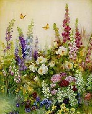 Lena Liu Butterfly Paradise Canvas