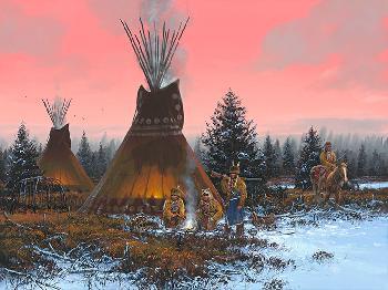 John Paul Strain By the Fire