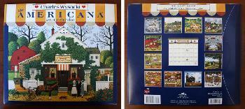 Charles Wysocki Americana 2004 Calendar