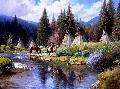 Martin Grelle A Camp Along the River