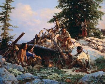 Howard Terpning Camp at Cougar
