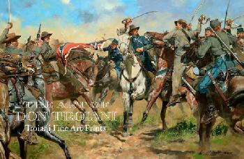 Don Troiani Captain Walter Newhall Giclee on Canvas