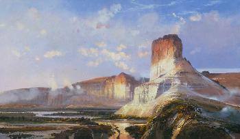 Michael Coleman Castle Butte - Green River, Wyoming Territory Artist