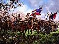 John Paul Strain Charge Through the Peach Orchard