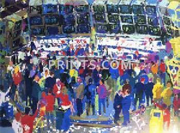 LeRoy Neiman Chicago Options Hand Pulled Serigraph