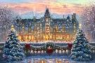 Thomas Kinkade Christmas at Biltmore