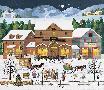 Charles Wysocki Christmas Eve