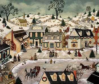 Linda Nelson Stocks Christmas on Village Square
