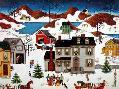 Linda Nelson Stocks Christmas Snow Fall