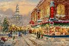 Thomas Kinkade Christmas Wish