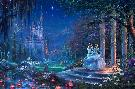 Thomas Kinkade Cinderella Dancing in the Starlight