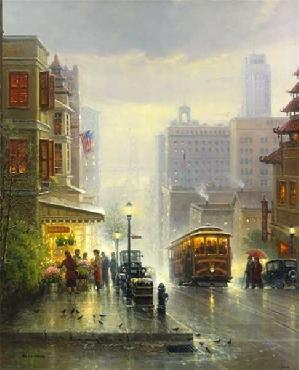 G. Harvey City by the Bay - San Francisco Artist