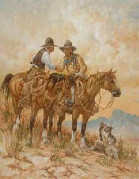Larry Fanning Code of the West Artist