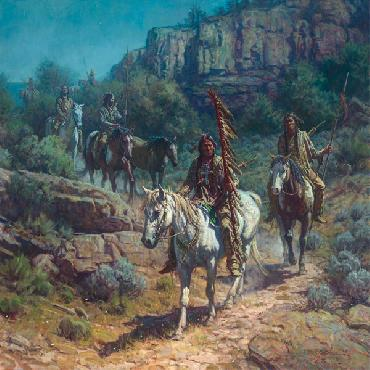 Martin Grelle Comanche Moon Open Edition on Paper