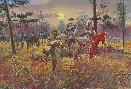 Mort Kunstler Confederate Sunset