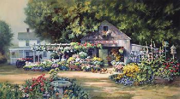 Paul Landry Country Garden