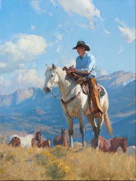 Bill Anton Cowboy Poetry Artist