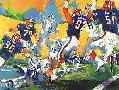 LeRoy Neiman Cowboy Bills Super Bowl