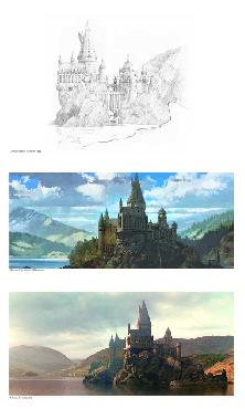 Stuart Craig Creating Hogwarts and the Black Lake Artist
