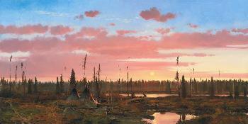 Michael Coleman Cree Moose Hunters Artist