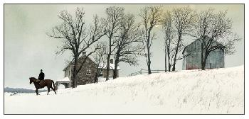 Peter Sculthorpe Cross Country Giclee on Paper