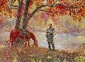 Mort Kunstler Cross Over the River