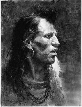 Howard Terpning Crow Artist