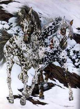 Judy Larson Crow Ponies