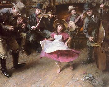 Morgan Weistling Dance Giclee on Paper
