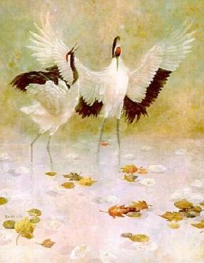 Lena Liu Dancing Duo Canvas