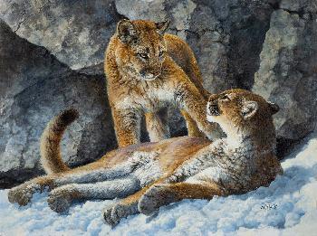 Bonnie Marris Dangerous Liaisons Giclee on Canvas