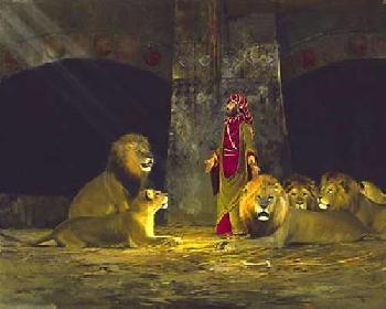 Michael Coleman Daniel in the Lion