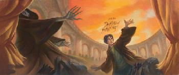 Mary Grandpre Harry Potter - Deathly Hallows Giclee on Paper
